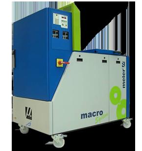 Picture of a Meler Macro 200 kg hot melt unit