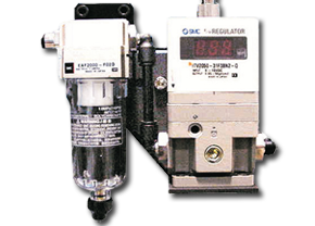 Picture of a VP-200 variable pressure regulator