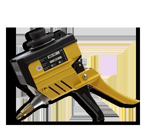 Picture of a hot melt granulate hand gun MS-80