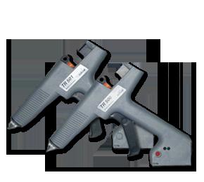 Picture of hot melt sticks hand guns TR-500 series